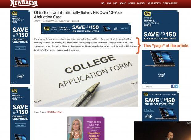Avoid Aggressive Websites Image