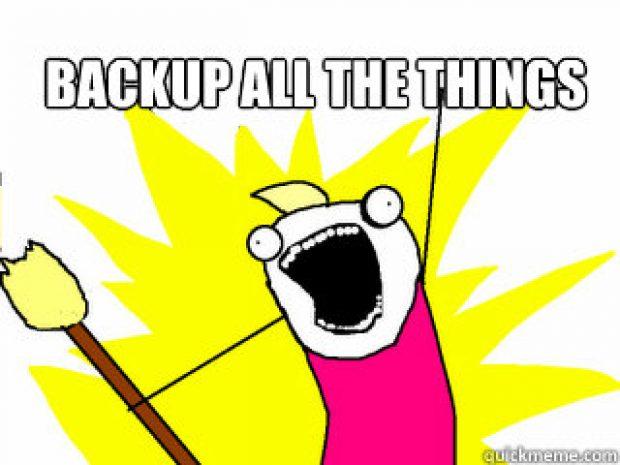 BACK IT UP! Image